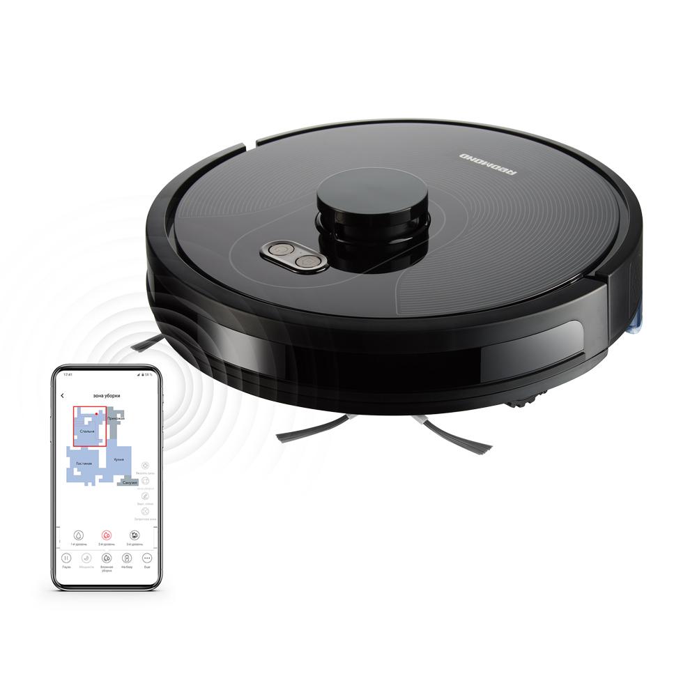 Умный пылесос-робот REDMOND RV-R670S WiFi
