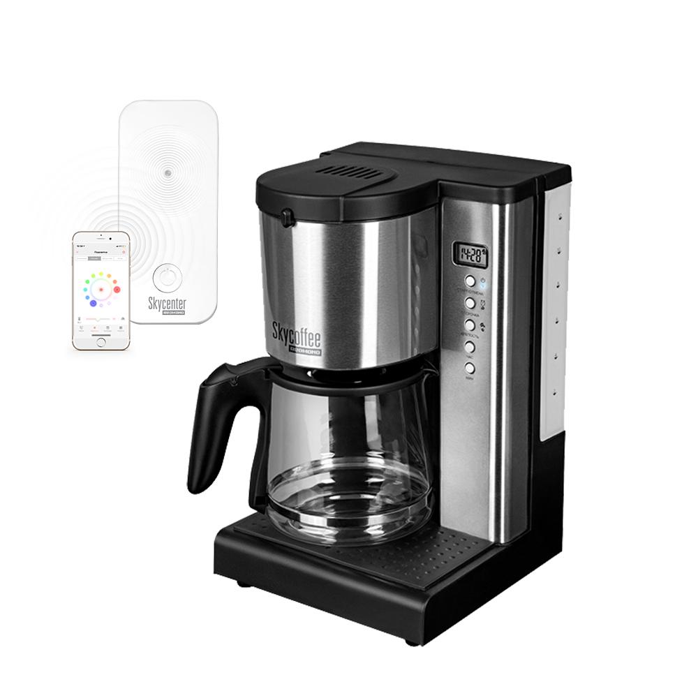Умная кофеварка REDMOND M1519S+Центр умного дома REDMOND SkyCenter 11S
