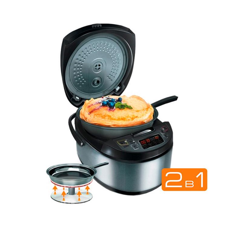 Мультикухня REDMOND RMK-M451E со сковородой, подъемный нагревательный элемент