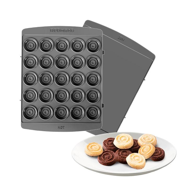 """Панель """"Шашки"""" для мультипекаря REDMOND (форма для выпечки печенья и пряников) RAMB-143"""