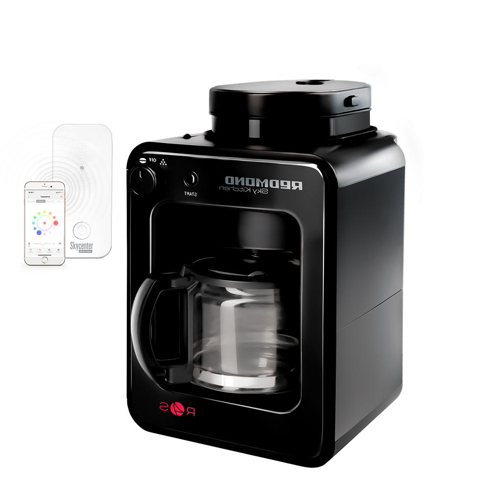 Купить со скидкой Умная кофеварка со встроенной кофемолкой REDMOND M1505S-E+Центр умного дома REDMOND SkyCenter 11S