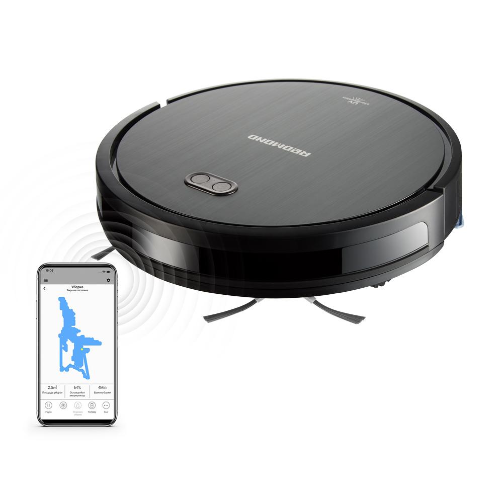 Умный робот-пылесос REDMOND RV-R650S WiFi