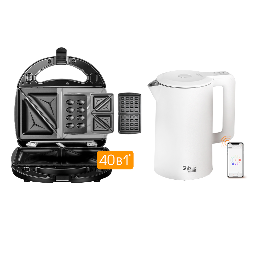 Комплект Мультипекарь REDMOND RMB-M603 + Умный чайник REDMOND SkyKettle M216S